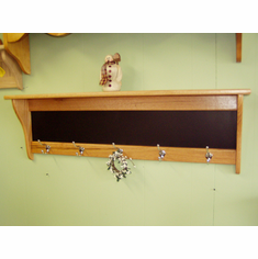 "42"" Message Board Coat Rack"