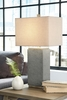 Signature Design Amergin 2 Grain Poly Table Lamps by Ashley