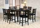 Urbana Espresso Wood Counter Height Table w/ Butterfly Leaf by Acme