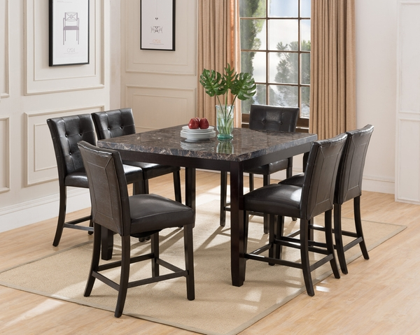 Annabella 2 Espresso Counter Height Chairs by Milton Greens Stars