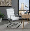 Samiye White Leatherette Adjustable Office Chair by Coaster
