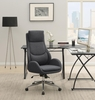 Randi Contemporary Grey Fabric Adjustable Office Chair by Coaster