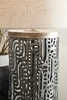Signature Design Dayo Gray/Gold Metal Table Lamp by Ashley