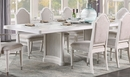Celestia Off White Wood Extendable Dining Table by Acme