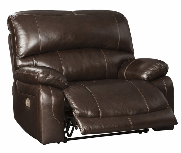 Signature Design Hallstrung Chocolate Power Recliner by Ashley