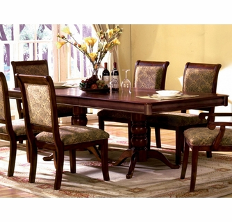 St Nicholas Antique Cherry Dining Table By Furniture Of America