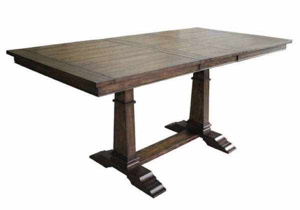 Delphine Vintage Dark Pine Extendable Counter Height Table by Coaster