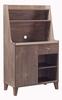 Janey Hazelnut Wood Baker's Cabinet with Multiple Storages by ID USA