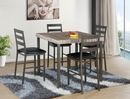 Victoria Gray Faux Marble Counter Height Table by Milton Greens Stars