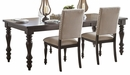 Begonia Gray Wood Rectangular Extendable Dining Table by Homelegance