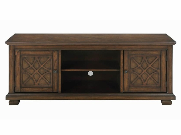 """Alizeh Golden Brown Wood 60"""" TV Console by Coaster"""