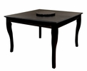 Burgos Black Wood Counter Height Table by Milton Greens Stars