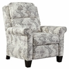 Benchcraft Sembler Multicolor Fabric Low Leg Power Recliner by Ashley