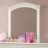 Mullan Mirror with White Frame by Furniture of America