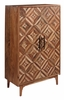 Signature Design Gabinwell Two-Tone Brown Accent Cabinet by Ashley
