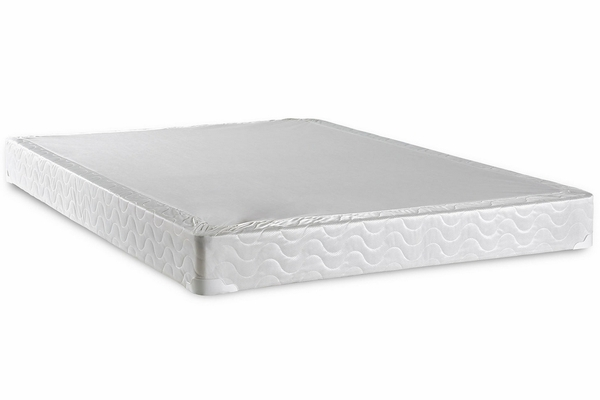 Bird Of Paradise White Twin Bed Foundation by Furniture of America