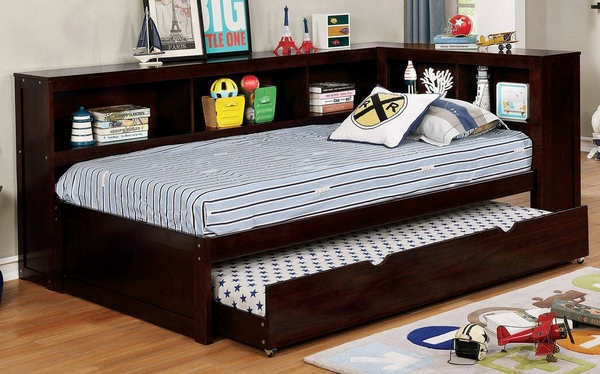Frankie Twin Daybed with Trundle (Oversized) by Furniture of America