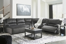 Signature Design Clonmel 6-Pc LAF Power Recliner Sectional by Ashley