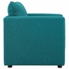 Activate Teal Fabric Armchair by Modway