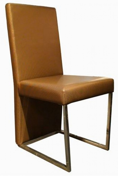 A&X 0099 2 Gold Leatherette Side Chairs by VIG Furniture
