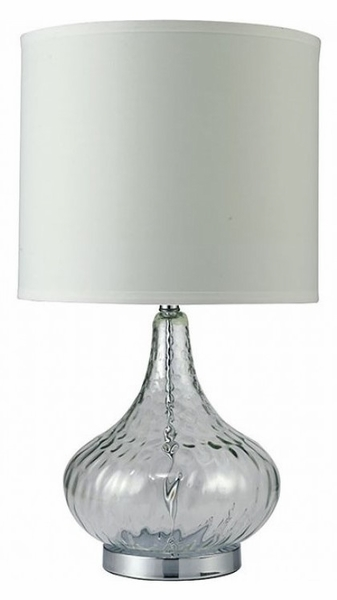Donna Table Lamp w/Clear Bulb-Shaped Body by Furniture of America