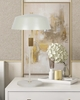 Dillon Grey Metal Table Lamp by TOV Furniture