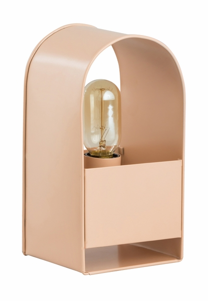Arther Blush Metal Table Lamp by TOV Furniture