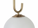 Chic Frosted Glass Wall Sconce by TOV Furniture