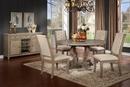 Brenda Rustic Natural Wood Round Dining Table by Best Master Furniture
