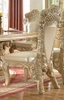 Kirsten 2 Pickle Frost/Antique Silver Side Chairs by Homey Design
