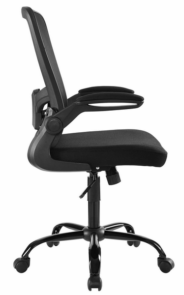 Exceed Black Nylon Mesh Office Chair w/Tilt-Tension Control by Modway