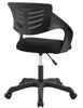 Thrive Black Breathable Mesh Office Chair by Modway