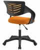 Thrive Orange Breathable Mesh Office Chair by Modway
