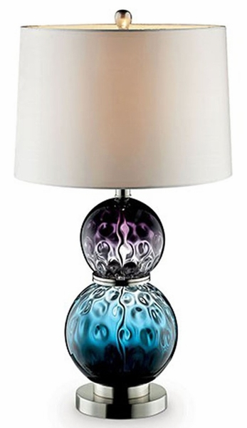 Camila Table Lamp w/Two Gradient Ball Bases by Furniture of America