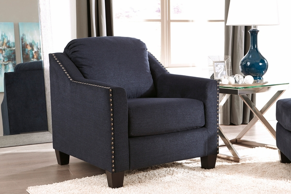 Benchcraft Creeal Heights Ink Fabric Chair by Ashley