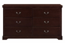 Seabright 4-Pc Cherry Wood Twin Bedroom Set by Homelegance