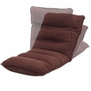Tyson Brown Suede Fabric Blend Gaming Lounge Chair by AC Pacific