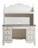 Cinderella Antique White Wood Youth Writing Desk by Homelegance
