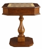 Bishop Cherry Wood Game Table with 2 Drawers by Acme