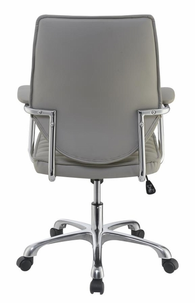Arrange Taupe Leatherette Adjustable Office Chair by Coaster