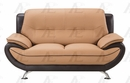 Caryl 2-Pc Yellow Bonded Leather Sofa Set by American Eagle Furniture