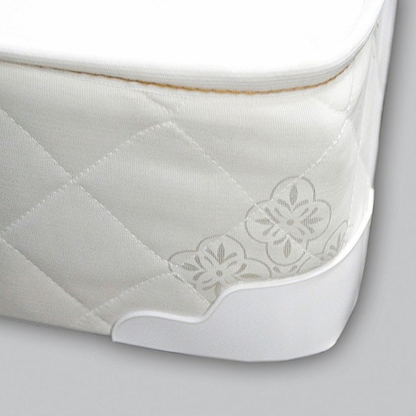 """Daisy 8"""" White Fabric Full Bunkie Board by Furniture of America"""