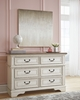 Signature Design Realyn Two-Tone Wood 6-Drawer Dresser by Ashley