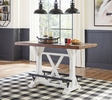 Signature Design Valebeck Brown/White Counter Height Table by Ashley