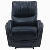 Collins Blue Top Grain Leather 3xPower Recliner by Coaster