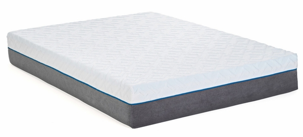 """Copper 12"""" Infused Cal King Memory Foam Mattress by South Bay"""