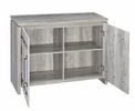 Abriale Grey Driftwood Accent Cabinet by Coaster