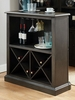 Voltaire Gray Wood Bar Table by Furniture of America
