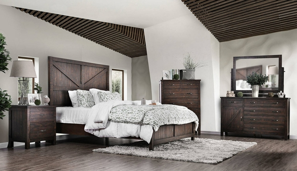 Brenna Espresso Wood Chest with 6 Drawers by Furniture of America