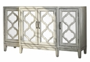 Eleanor Antique White Wood Accent Cabinet by Coaster
